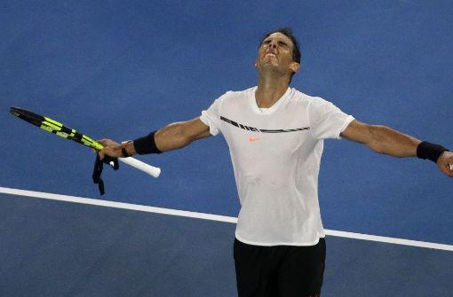 Zverevs Gegner heißt Nadal