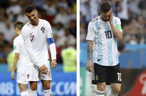 Messi, Ronaldo und Co. – die großen Unvollendeten des Fußballs
