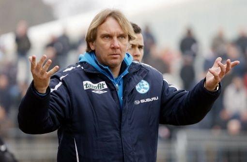 Stuttgarter Kickers trennen sich von Dais