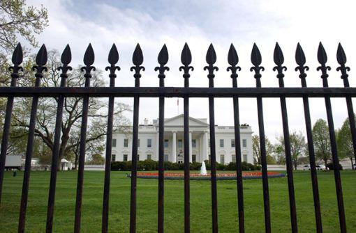 Zwangs-Stillstand für US-Regierung