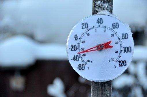 Albstadt grüßt mit minus 34 Grad