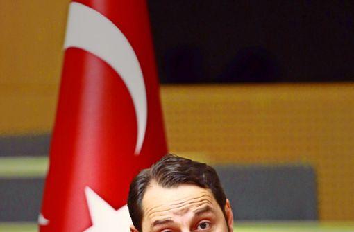 Erdogans Schwiegersohn Berat Albayrak hat schon jetzt viel Einfluss. Foto: AFP