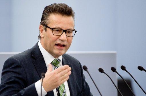 Peter Hauk wirft den Grünen in Baden-Württemberg Gesinnungsterrorismus vor. Foto: dpa
