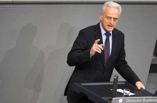 Bundesverkehrsminister Peter Ramsauer (CSU) Foto: dpa