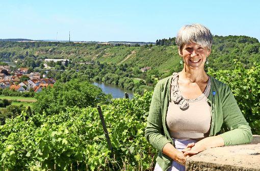 Catherine Kern will  den Steillagen-Anbau bei Wein erhalten. Foto: factum/Granville