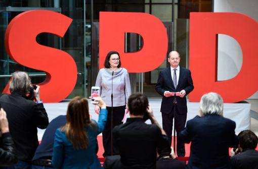 Olaf Scholz wird Finanzminister und Vizekanzler
