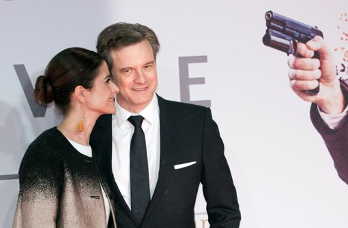 Kingsman-Premiere in Berlin: Colin Firth hat Take That dabei