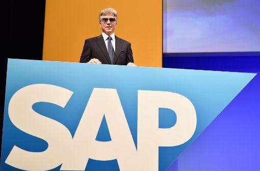 SAP-Chef erhält mehr als fürstliches Salär