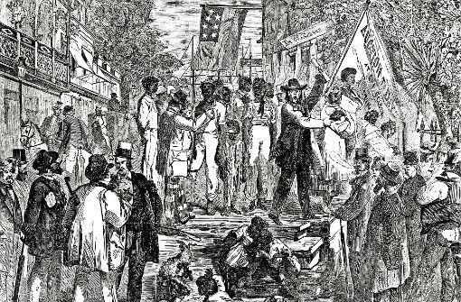 In Zeiten der Sklaverei