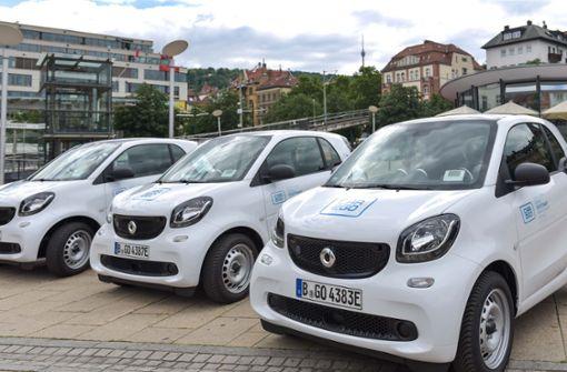 Neue Autos für Car2go