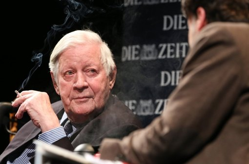 Launiger Abend mit Helmut Schmidt