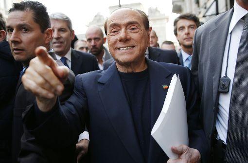 Berlusconi schielt auf Zweibeiner mit Wahlrecht