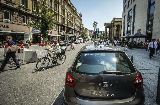Plan für weitgehend autofreie City spaltet