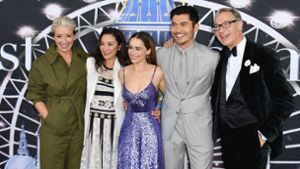Gut gelaunte Stars feiern Premiere in New York