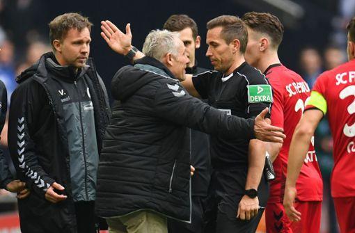 DFB ermittelt gegen Freiburgs Coach Christian Streich