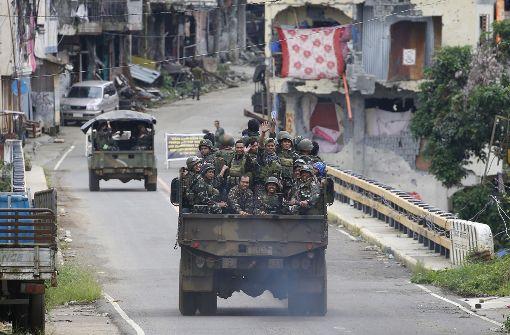 Kämpfe gegen den IS in Marawi beendet