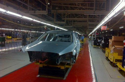 Daimler baut US-Werk aus
