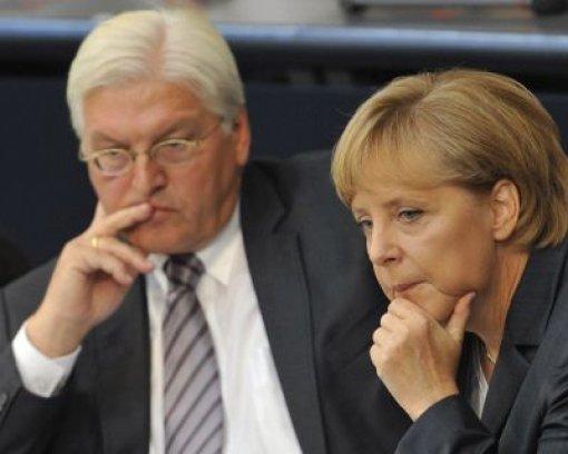Merkel und ihr Vize