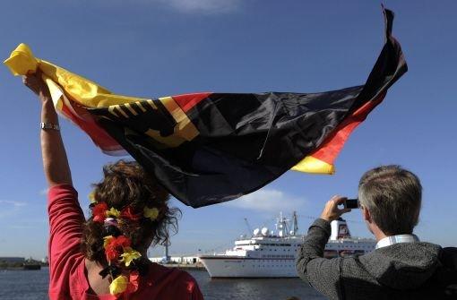 Olympia-Team in Hamburg eingetroffen