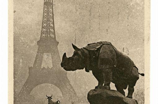 Postkarte von Walter Benjamin an Siegfried Kracauer, Ende März 1926 Foto: DLA Marbach