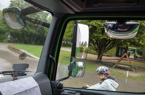 Freiwillige Umrüstungen sollen Radfahrer besser schützen
