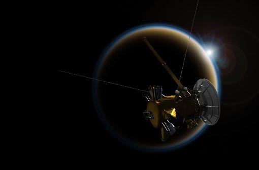 """Das dramatische Ende von Raumsonde """"Cassini"""""""