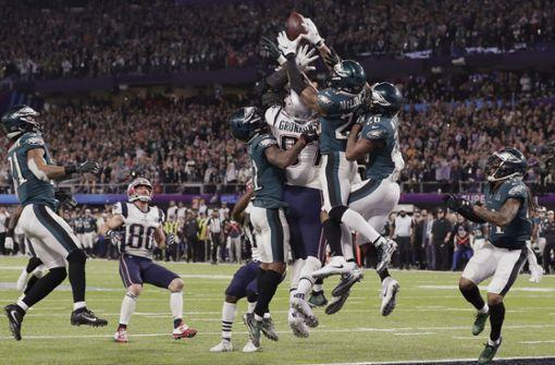 Philadelphia gewinnt überraschend gegen die Patriots
