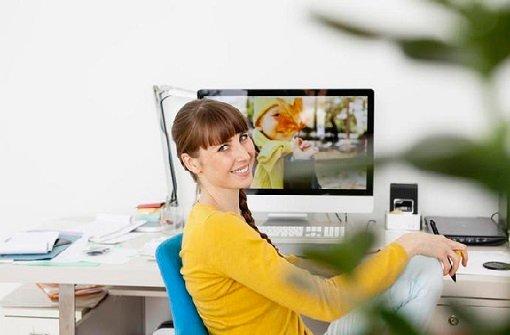 Wohlfühlen am Schreibtisch - wie wichtig ist das? Foto: Mauritius Images
