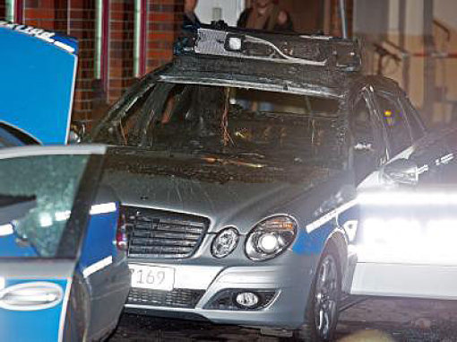 Anschläge auf BKA und Polizei