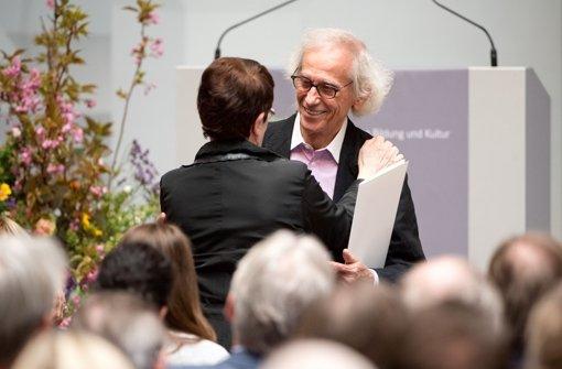 Christo in Stuttgart geehrt