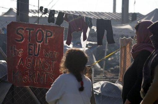 Schwere Krawalle im Flüchtlings-Hotspot auf Chios