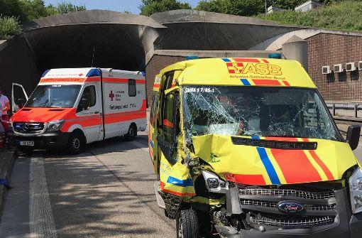 Verkehrschaos nach Unfall im Kappelbergtunnel