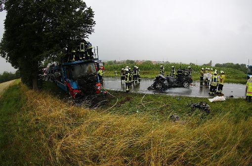 Tödliche Kollision mit Lastwagen