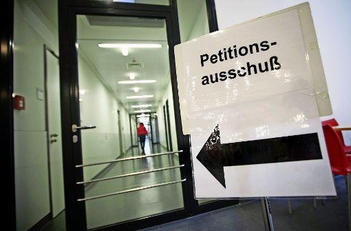 Örlesweg: Petitionsausschuss soll entscheiden