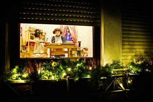 Puppenbackstube für Weihnachten