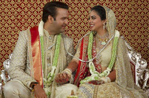 Hochzeit des Jahres in Indien nach Wochen vollzogen