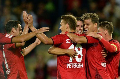 SC Freiburg siegt 1:0 gegen Domzale