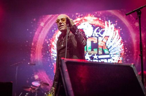 Toni Krahl von der Prenzlauer Kultband City Foto: Lichtgut/Julian Rettig