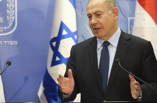 Netanjahu lässt Treffen mit Gabriel platzen