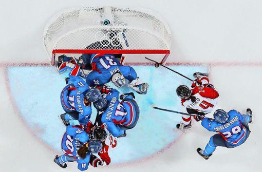 Süd- und Nordkorea im Eishockey vereint