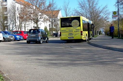 Elterntaxis blockieren die Bushaltestelle