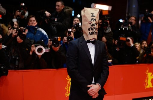 Im not famous anymore - Shia LaBeouf auf dem roten Teppich der Berlinale. Foto: Getty Images Europe