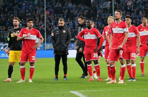 VfB Stuttgart ist akut versetzungsgefährdet