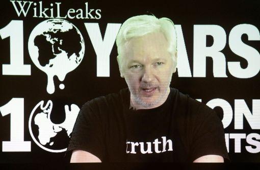 Fokus jetzt auf Julian Assange