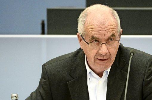 Siegfried Stumpf: Der ehemalige Stuttgarter Polizeichef soll einen Strafbefehl bekommen Foto: dpa