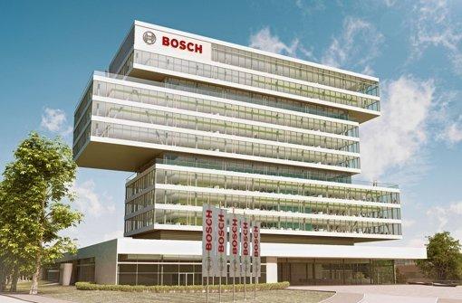 So wird die künftige Ideenschmiede des Bosch-Konzerns in Renningen aussehen. Foto: Bosch
