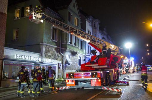 Die Feuerwehr war mit einem Großaufgebot im Einsatz. Foto: 7aktuell.de/Simon Adomat