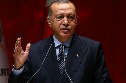 Erdogan sucht Schuldige