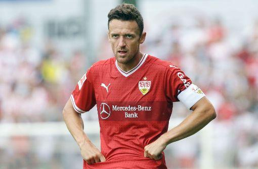 Mit 31 Jahren gehört Kapitän Christian Gentner beim VfB Stuttgart zu den alten Eisen. Foto: Pressefoto Baumann