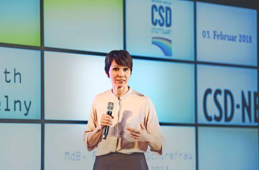 Die Abgeordnete Judith Skudelny ist neue Schirmherrin des CSD. Foto: Martin Stollberg